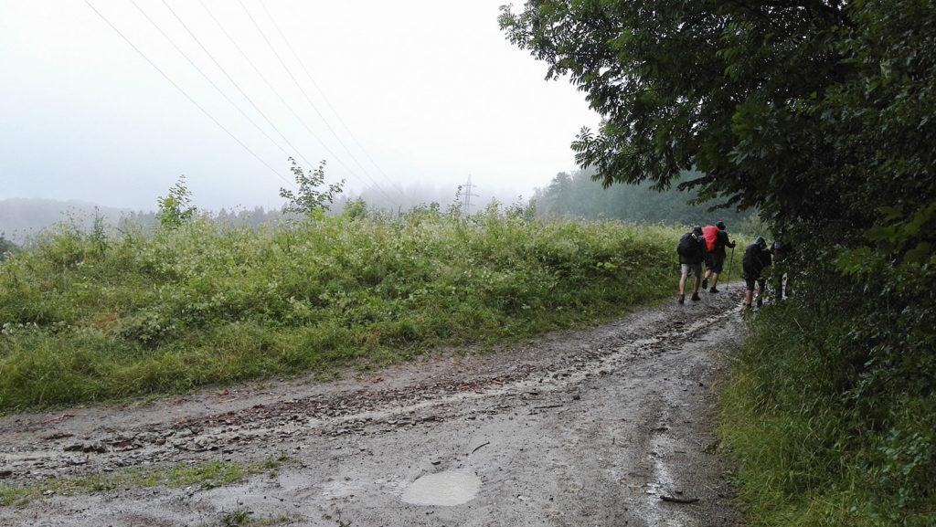 Droga na Lubań w Gorcach