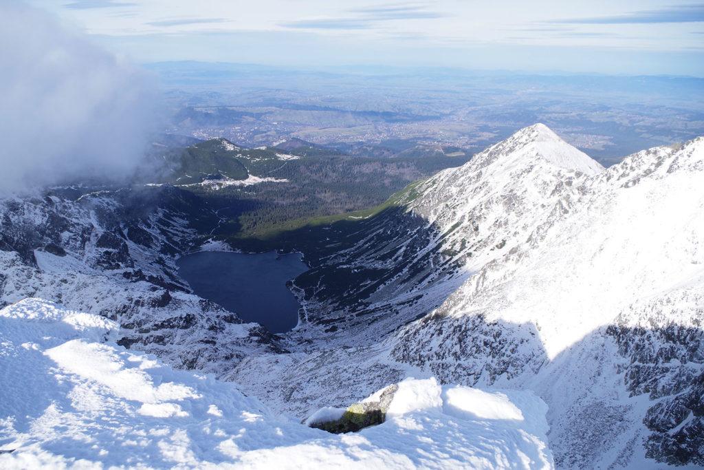 Widok na Dolinę Gąsienicową ze szczytu Koziego Wierchu