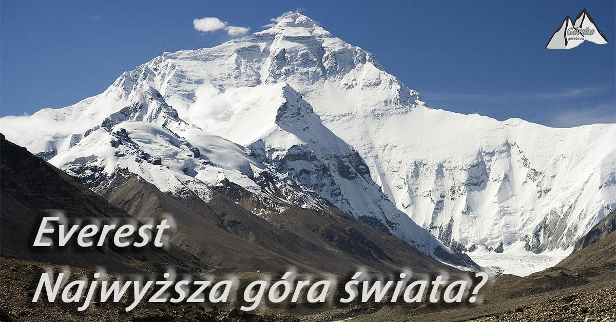Najwyższa góra świata. Everest