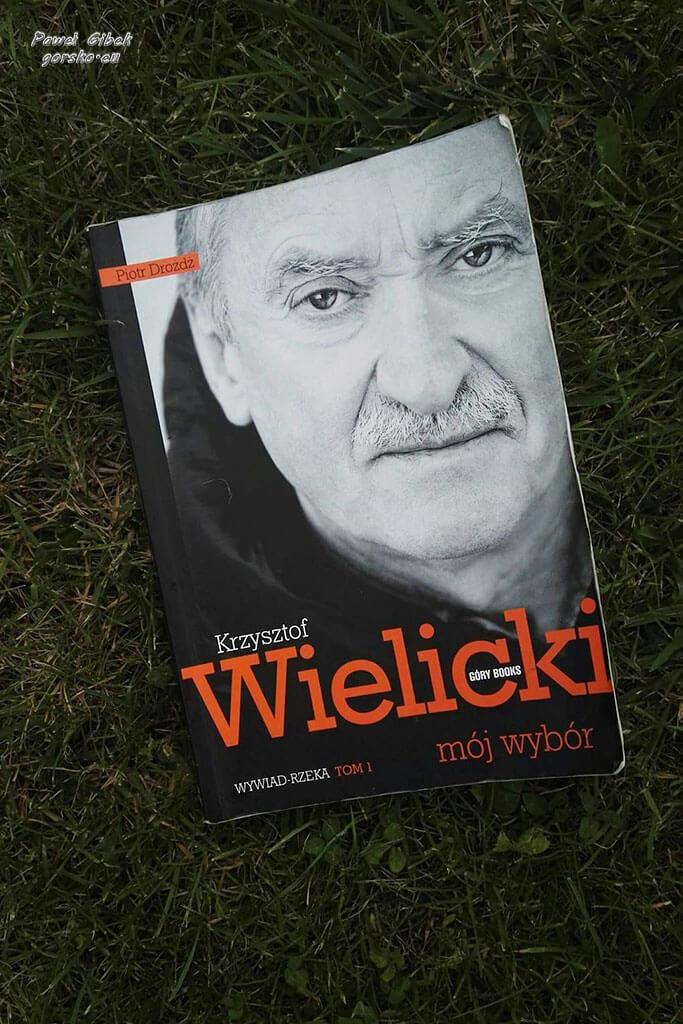"""Książka Krzysztofa Wielickiego """"Mój wybór"""" Tom 1"""