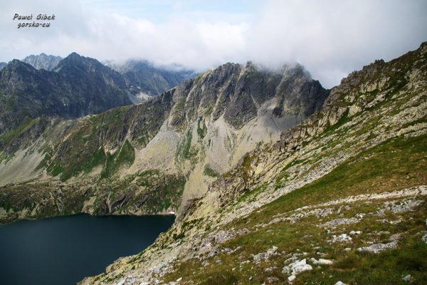 Szlak na Przełęcz pod Chłopkiem. Wielki Staw Hińczowy i Koprowy Wierch