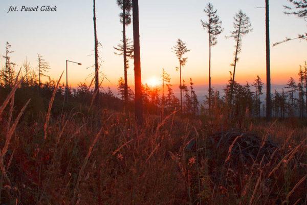 Opis wejścia na Baranie Rogi. Wschód słońca