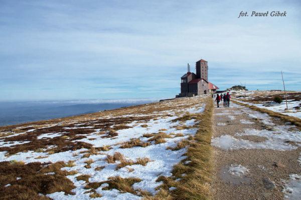 Szlak przez Śnieżne Kotły Szrenica Wodospad Kamieńczyka. Prawie na miejscu