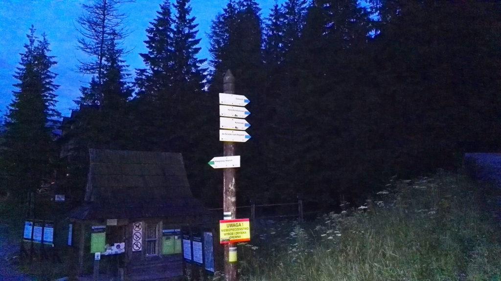 Trasa na Kasprowy Wierch z Kuźnic