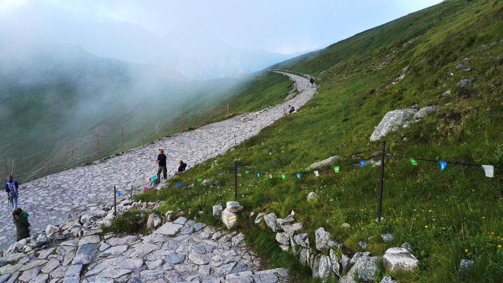 Szlak z Kasprowego Wierchu na Suchą Przełęcz