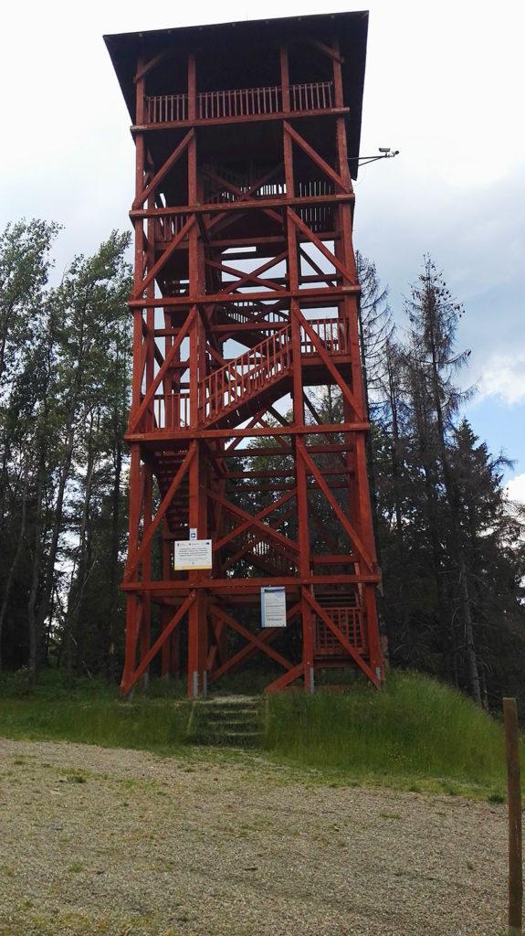 Wieża widokowa na Eliaszówce