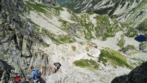 Zawrat w Tatrach Wysokich. Szlak od Doliny Gąsienicowej