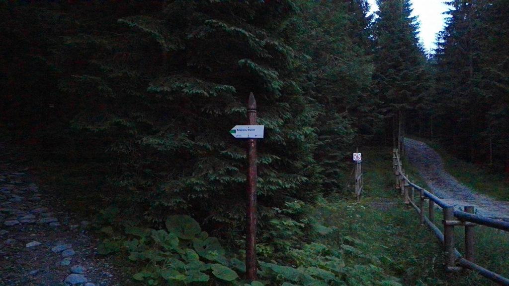 Zielony szlak na Kasprowy Wierch z Kuźnic