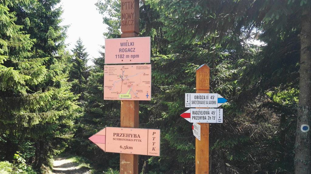 Szlak Radziejowa - Wielki Rogacz