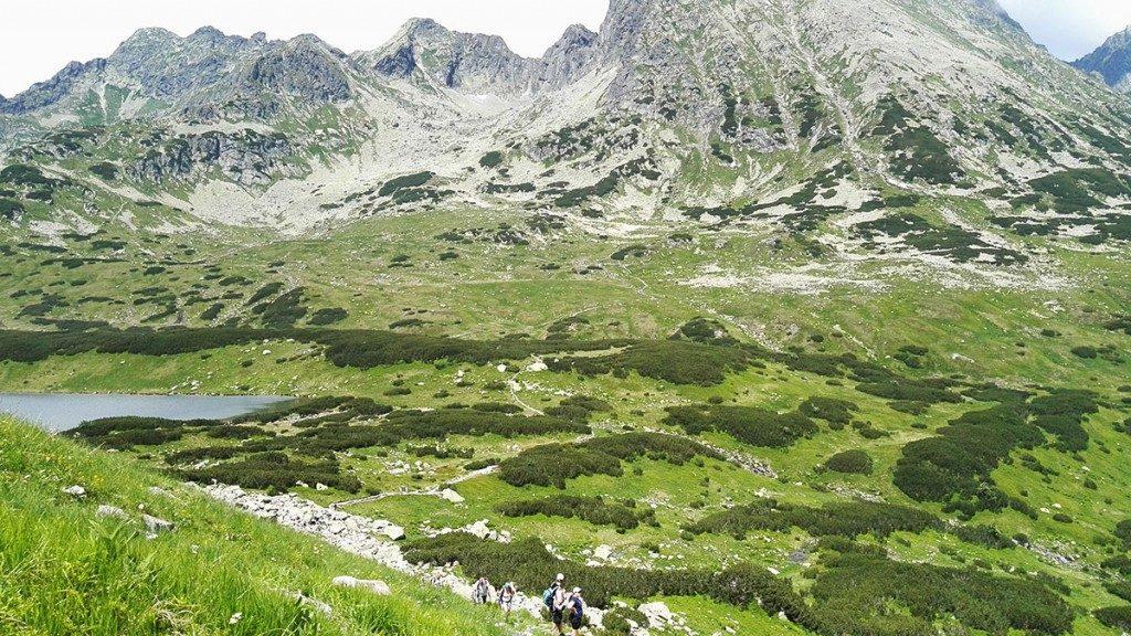 Orla Perć widziana ze szlaku na Szpiglasową Przełęcz