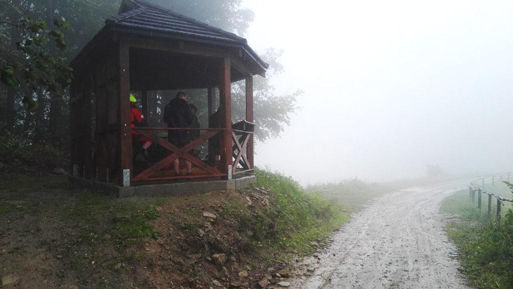 Altana na Górze Marszałek w drodze na Lubań Gorce
