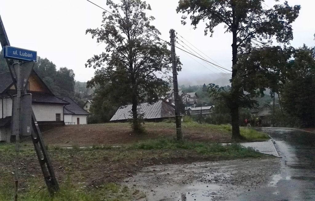 Szlak na Lubań w Gorcach