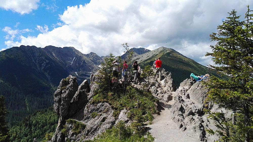 Tatrzańskie doliny. Gęsia Szyja