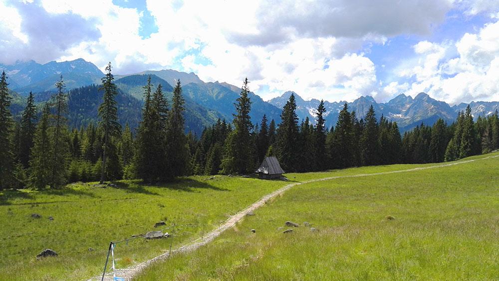 Tatrzańskie doliny. Rusinowa Polana