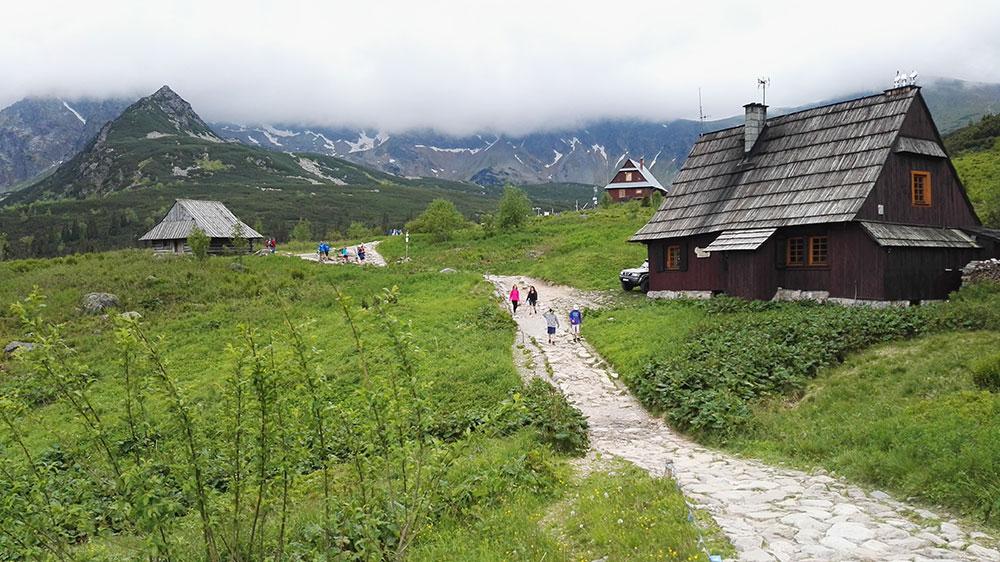 Tatrzańskie doliny. Hala Gąsienicowa