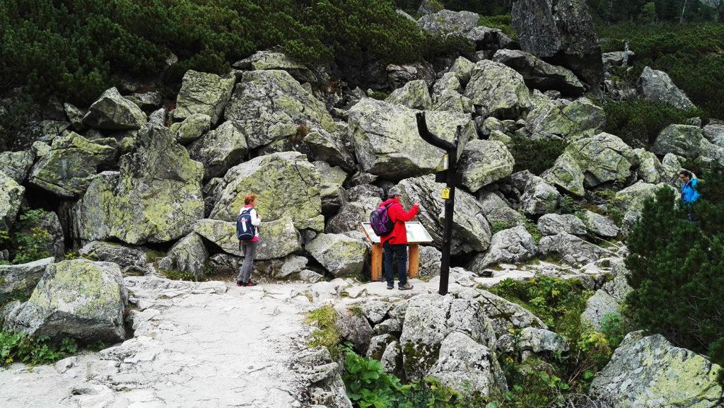 Szlak na Tatrzański Cmentarz Symboliczny pod Osterwą