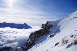 Zimowe wejście na Kozi Wierch i cudowny festiwal chmur