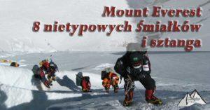 Czy to kolejni zdobywcy Mount Everest? 8 nietypowych śmiałków i sztanga