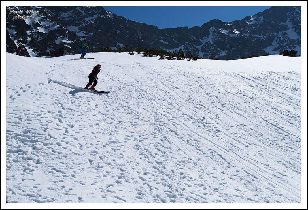 5 Dni Lawinowo-Skiturowe. Skitury. Poruszanie się na nartach: podchodzenie, zakosy, zjazdy