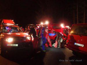 Akcja ratunkowa GOPR Beskidy w Jaskini Salmopolskiej