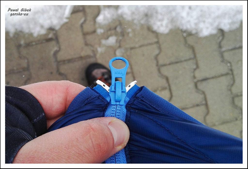 Test kurtki z puchu hydrofobowego Cumulus Incredilite Endurance