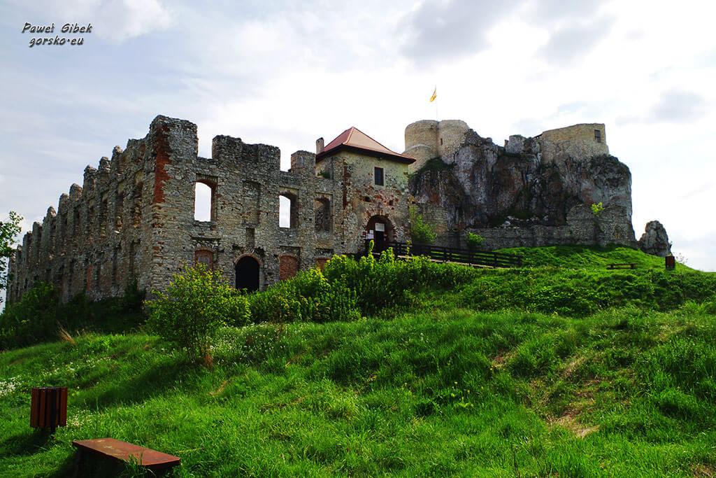 Szlak Orlich Gniazd. Zamek w Rabsztynie