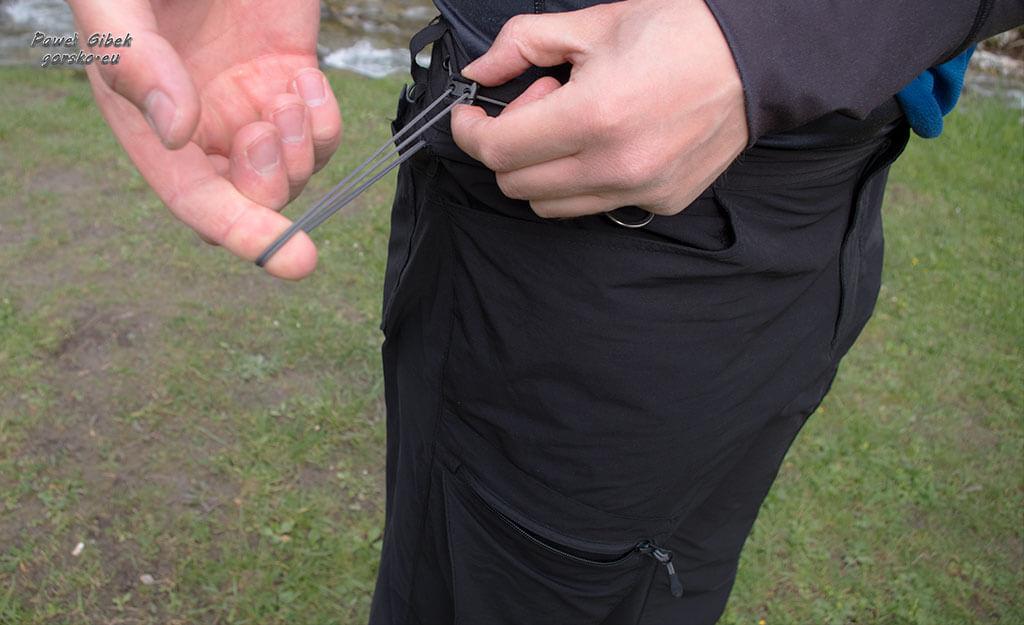 Dare 2b Tuned In Trouser. Ściągacz w pasie