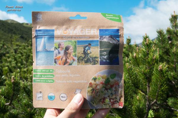Żywność liofilizowana. Liofilizaty Voyager. Danie wegetariańskie marokański tajine
