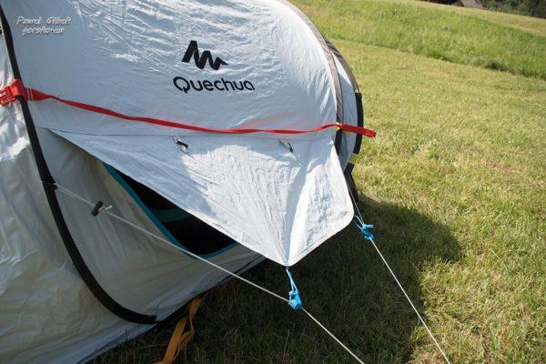 Test namiotu Quechua 2 Seconds z technologią Fresh&Black