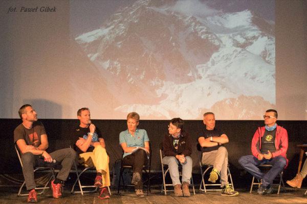 Festiwal Górski w Lądku. Uczestnicy panelu dyskusyjnego Turysta czy Himalaista