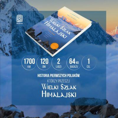 """Recenzja książki """"Wielki Szlak Himalajski. 120 dni pieszej wędrówki przez Nepal"""""""