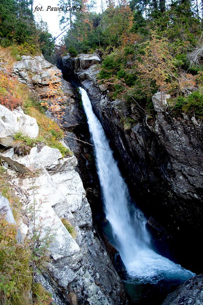 Opis wejścia na Baranie Rogi. Wodospad Olbrzymi