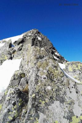 Opis wejścia na Baranie Rogi. Zbliżamy się do szczytu