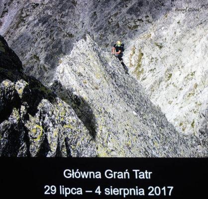 KFG 2017 Głowna Grań Tatr