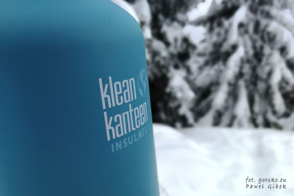 Test i opinia o izolowanej butelce turystycznej Klean Kanteen