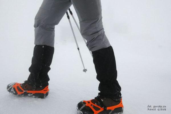Test butów Aku La Val GTX. Na buty bez problemu można nałożyć stuptuty i raczki