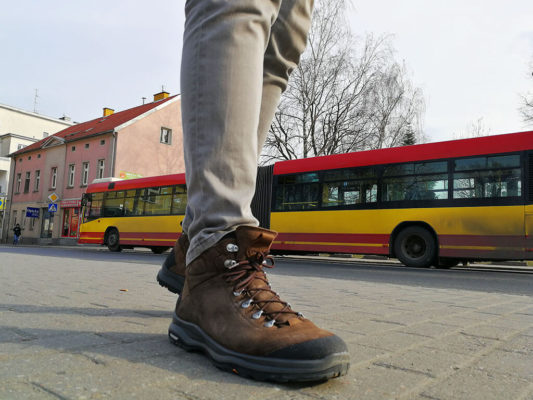 Test butów Aku La Val GTX. W mieście