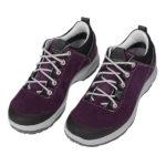 Test butów Aku La Val GTX. Wariant damski niski fioletowy z zamszu