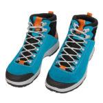 Test butów Aku La Val GTX. Wariant niebieski z zamszu