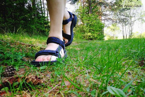 Read more about the article Czy w sandałach można chodzić po górach?