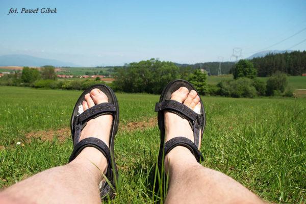 Sandały Teva Terra FI 4. Opinia po testach. Widok