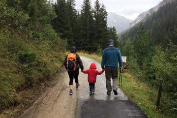 Góry z dziećmi