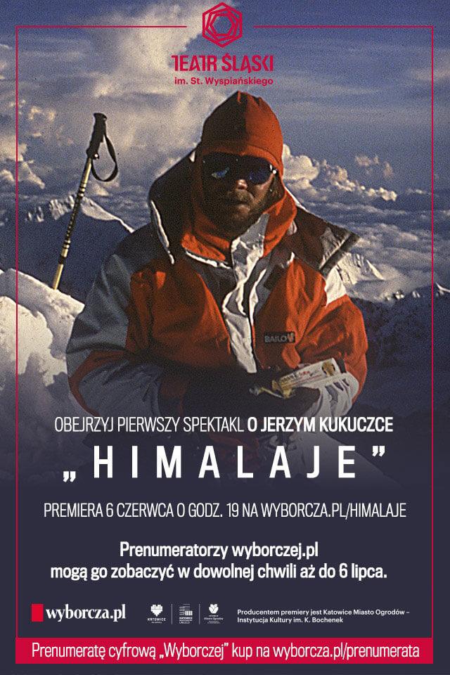 Spektakl Himalaje. Plakat