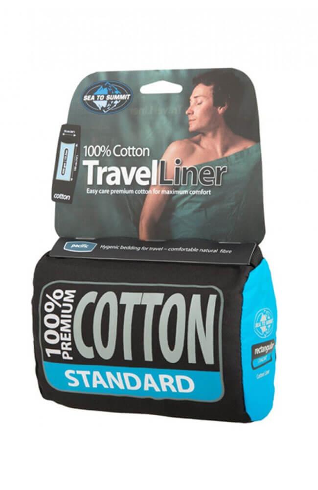 Wkładka do śpiwora Sea to Summit Cotton Travel Liner