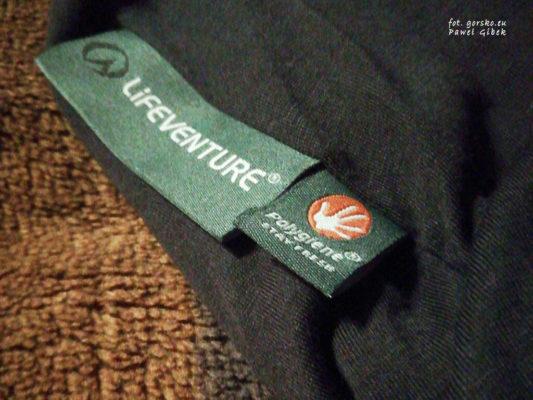 Wkładka do śpiwora Thermolite. Polygiene ma właściwości antybakteryjne i opóźnia konieczność prania