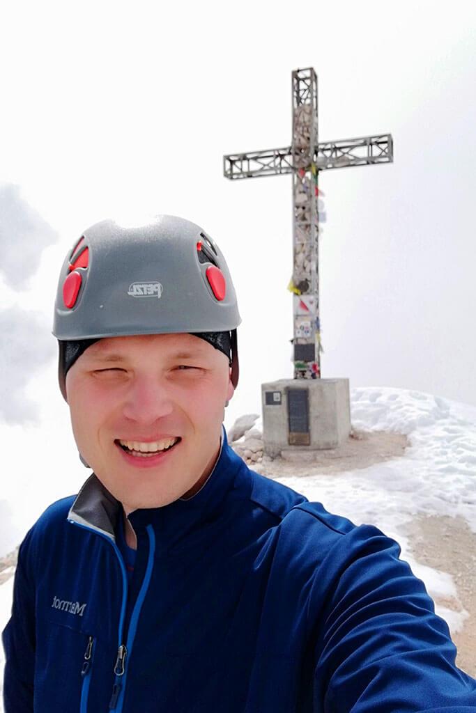 Softshell Marmot Leadville. A na finał wejść na szczyt Tofana di Rozes 3225 m