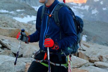 Softshell Marmot Leadville. Softshell był wystarczającą ochroną do wysokości około 3600 m