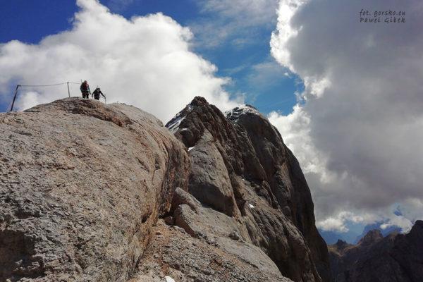 Jak wejść na Punta Penia 3343 m (Marmolada) w Dolomitach?