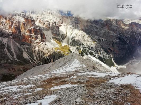Jak wejść na Tofana di Rozes w Dolomitach?