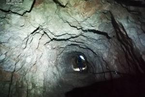 Tofana di Rozes. Tunel z czasów I Wojny Światowej